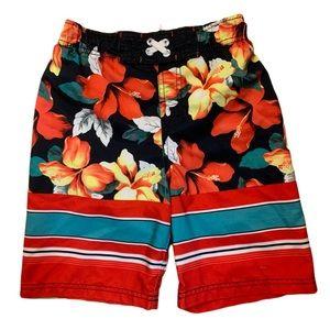 Cherokee Floral Swim Trunks